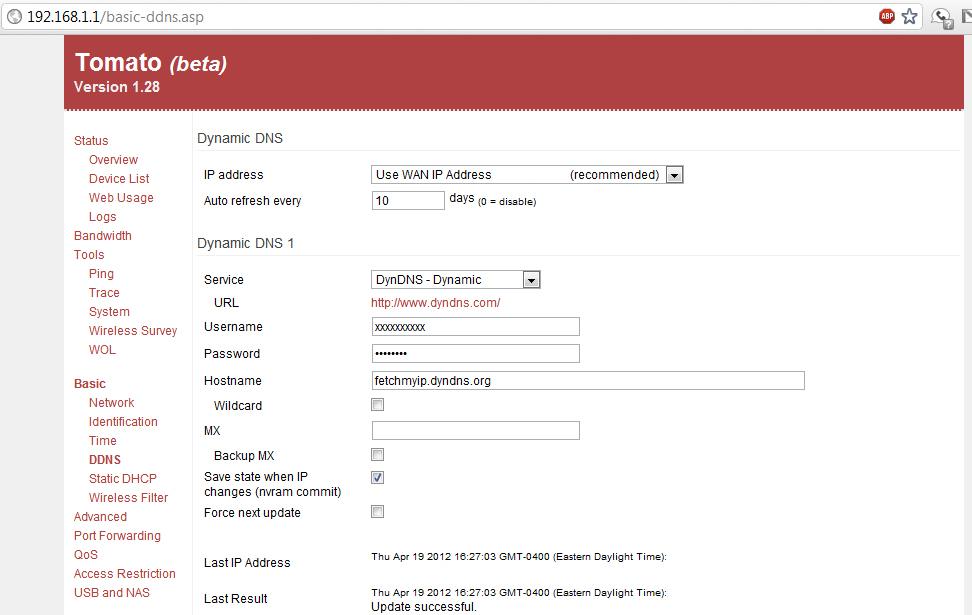 —Waking Trinity from far far away: How I finally got Wake-on-LAN working with a Linksys E3000 & TomatoUSB! (2/4)